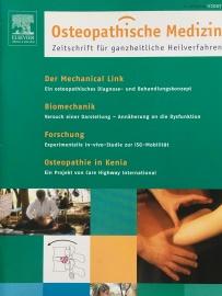 Zeitschrift Osteopathische Medizin