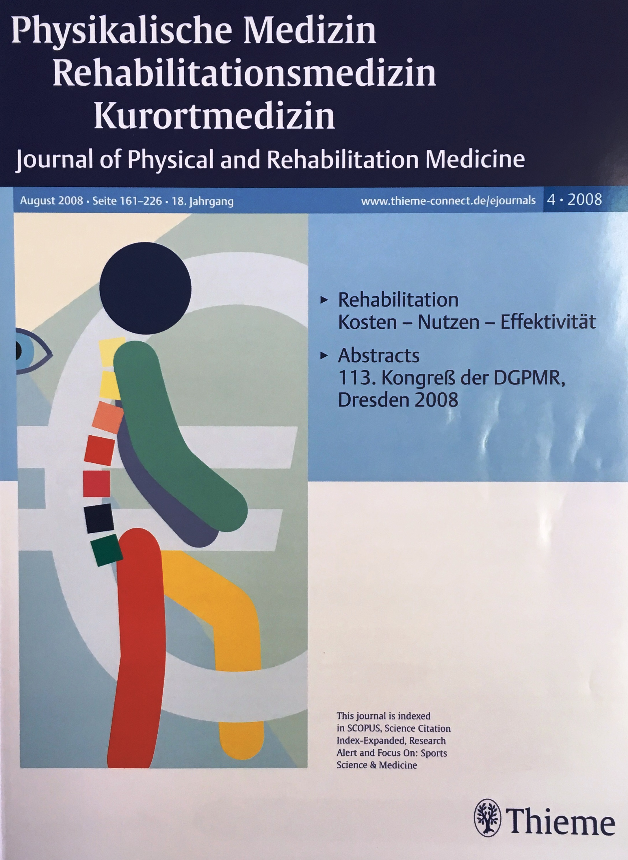 Physikalische Medizin 2008